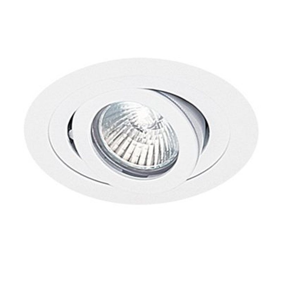 Shop Eurofase Trim White Eyeball Recessed Light Trim Fits Housing Diameter Recessed Light Trim Recessed Lighting Light Leak