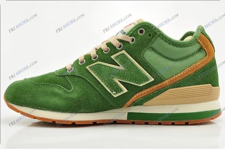 buy popular 0bf88 55fe7 New Balance 996 Mid Cut Green Men Athletic Running Shoes new ...