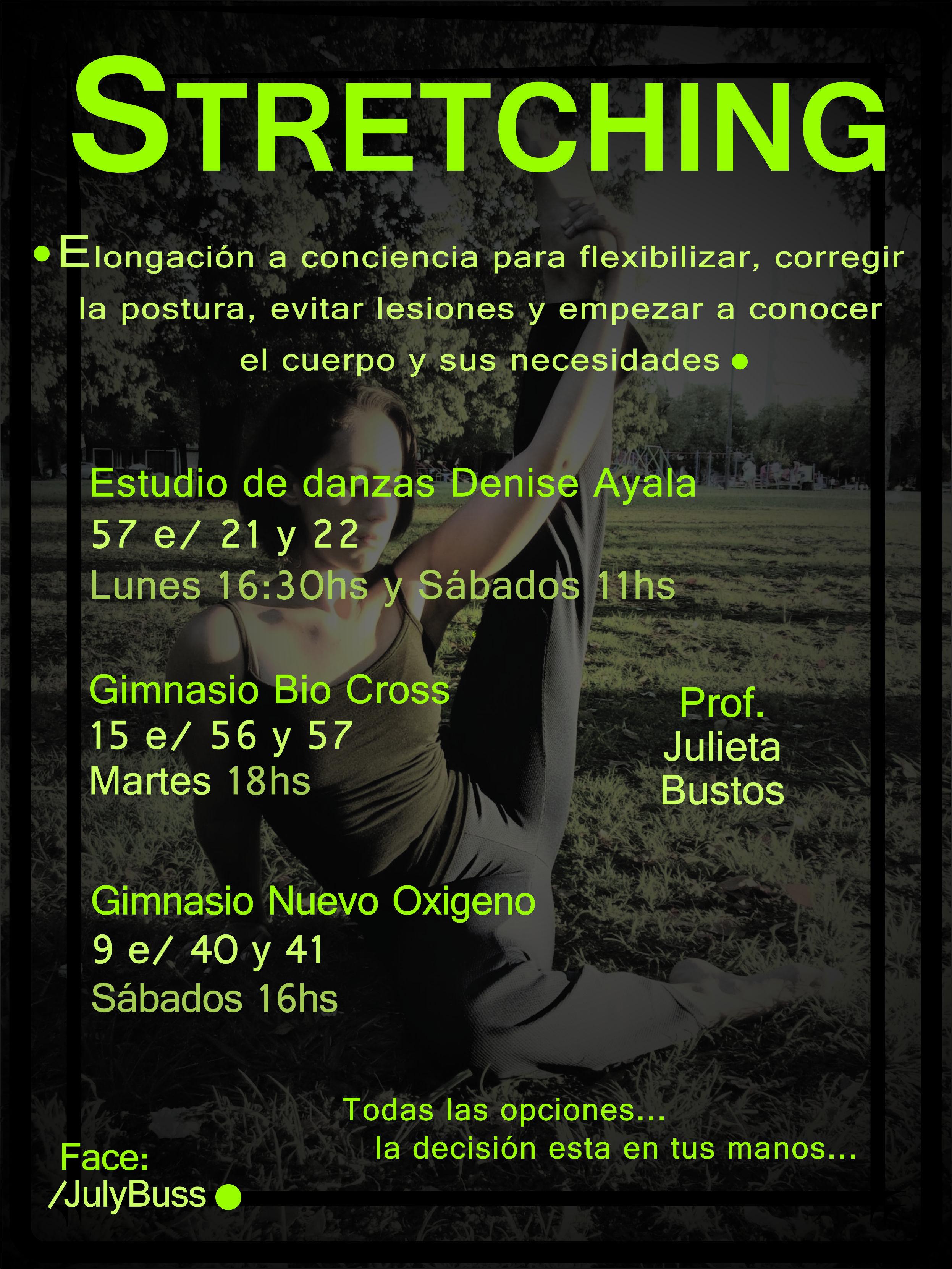 TODAS LAS OPCIONES(Actividad Unisex)... LA DECISIÓN ESTA EN TUS MANOS... NO TE LAS PODES PERDER... VENI A SENTIRTE DIFERENTE!!! Estudio de Danzas Denise Ayala, Gimnasio Bio Cross y Gimnasio Nuevo Oxigeno podes venir a probar la clase cuando quieras!!! ¡¡¡¡¡LOS ESPEROOOOOO!!!!!