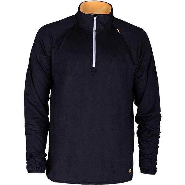 Current Outerwear From The Classic Brand Fila Keep That Chill Under Control With Fila Men S Platinum Quarter Zip Tennis Tops Mens Tennis Clothing Quarter Zip