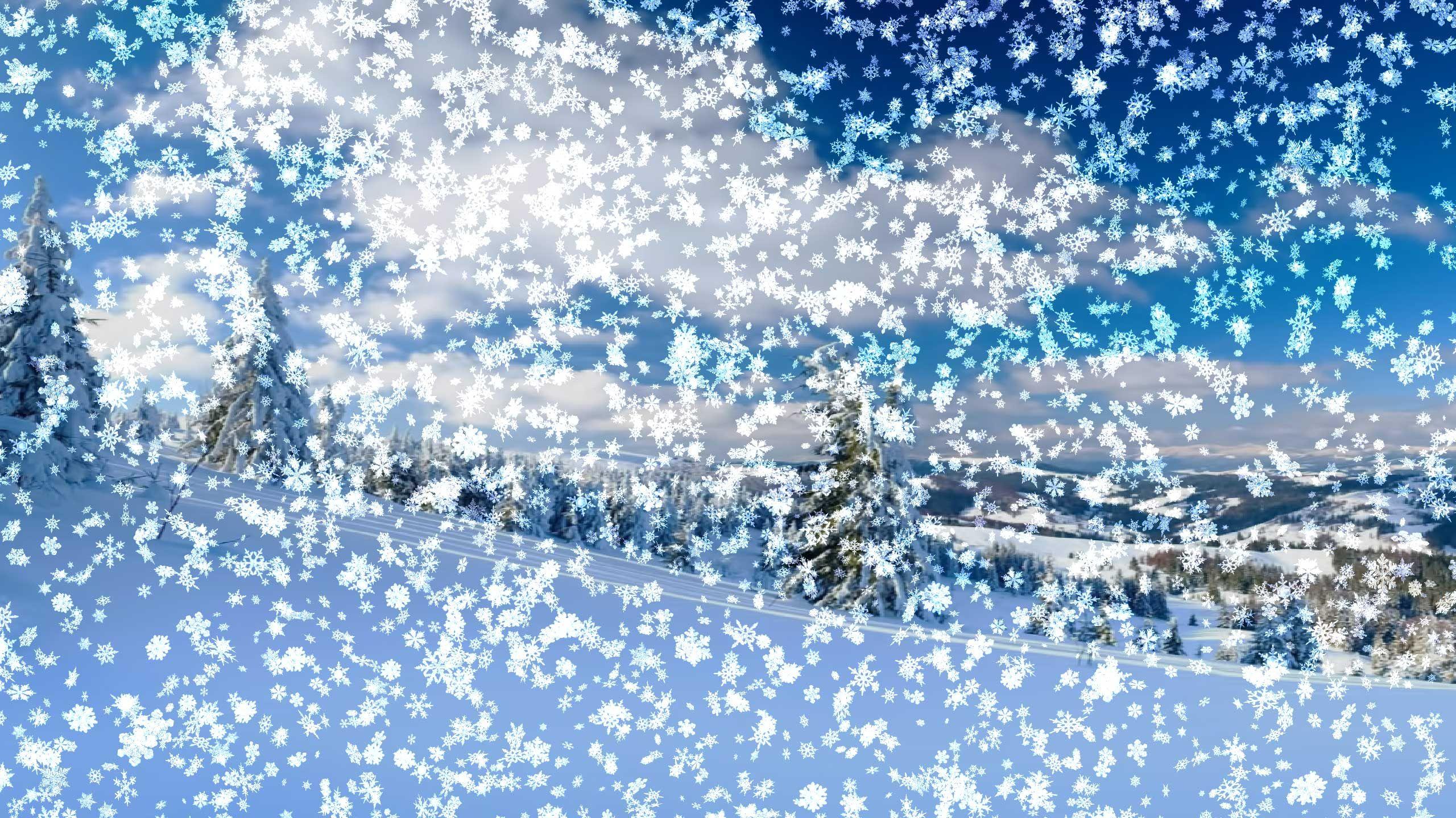 Новогодние картинки движущиеся с падающим снегом на рабочий