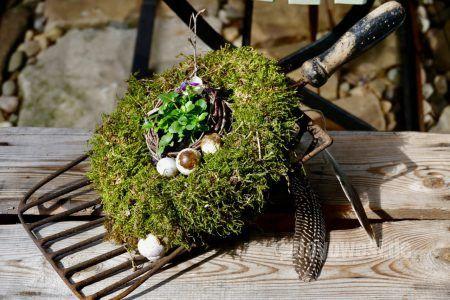 Kartoffelschaufel Vom Schrott Als Gartendeko   Karin Urban   NaturalSTyle ·  Decoration