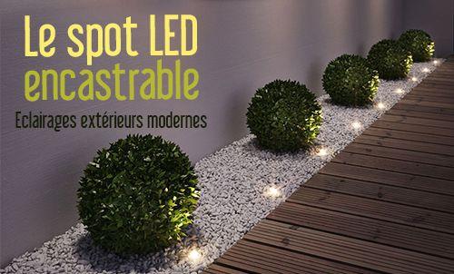 Spot Led Encastrable Etanche Pour L Exterieur Eclairage Exterieur Moderne Spot Exterieur Encastrable Eclairage Led