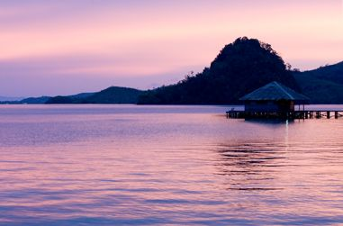 Paradiso Village suite over water  Padang, West Sumatra