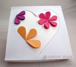Folded heart flowers (2 of 2)