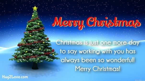 merry christmas wishes for coworkers business | Merry Christmas ...