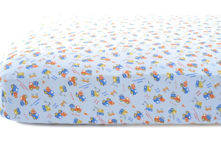 2 Piece Crib Fitted Sheet Set