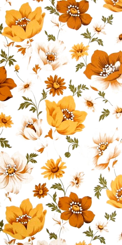 Wallpapers Wallpapers Papel De Parede Floral Papel De Parede Flores Poster Decoracao