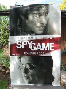 Large Vinyl Hanging Poster BRAD PITT, ROBERT REDFORD, Universal Studios, 2001   eBay