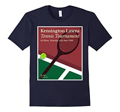 Vintage English Tennis Tournament T Shirt