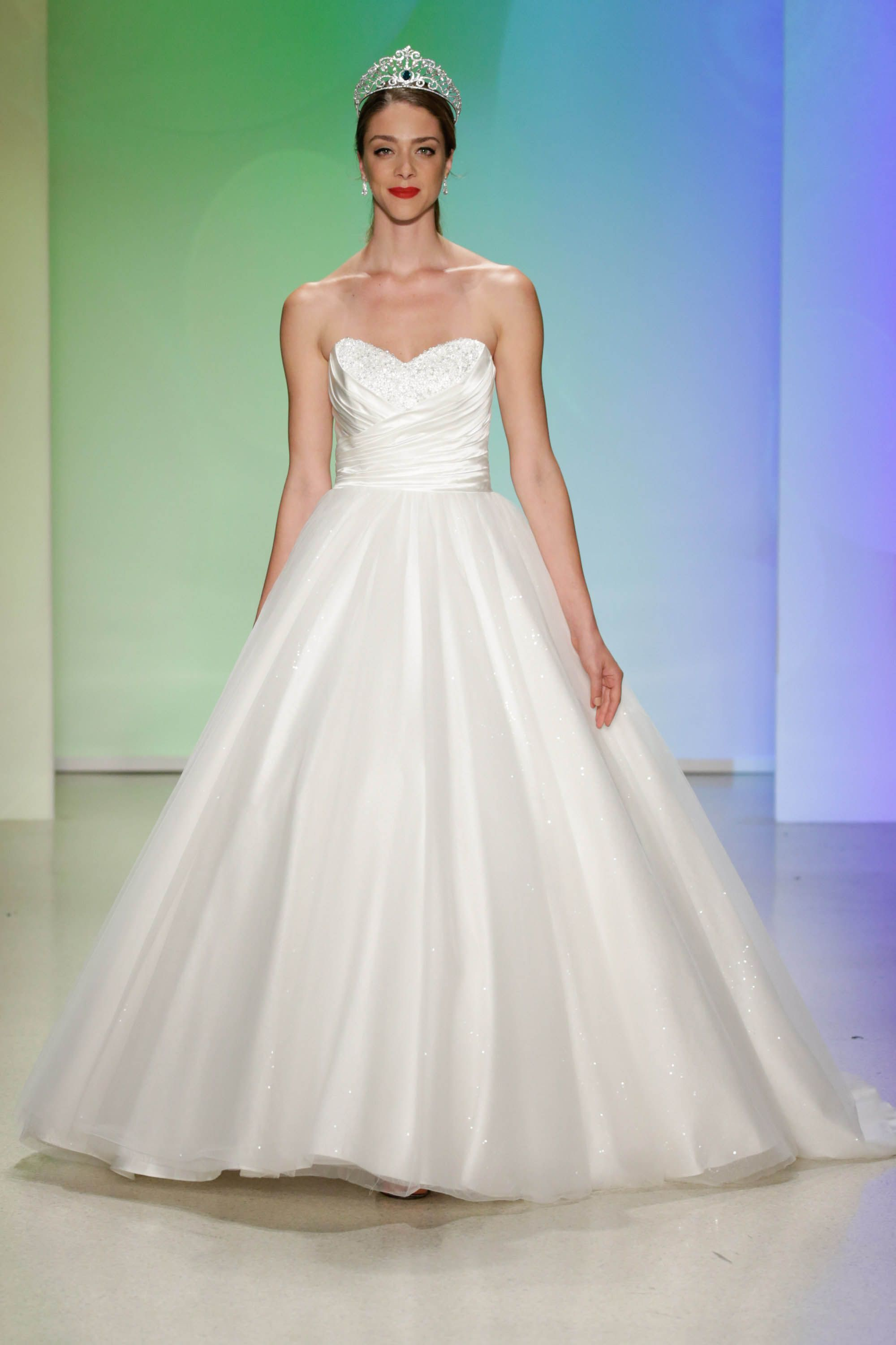 cinderella inspired anniversary gown with matching tiara - 2017