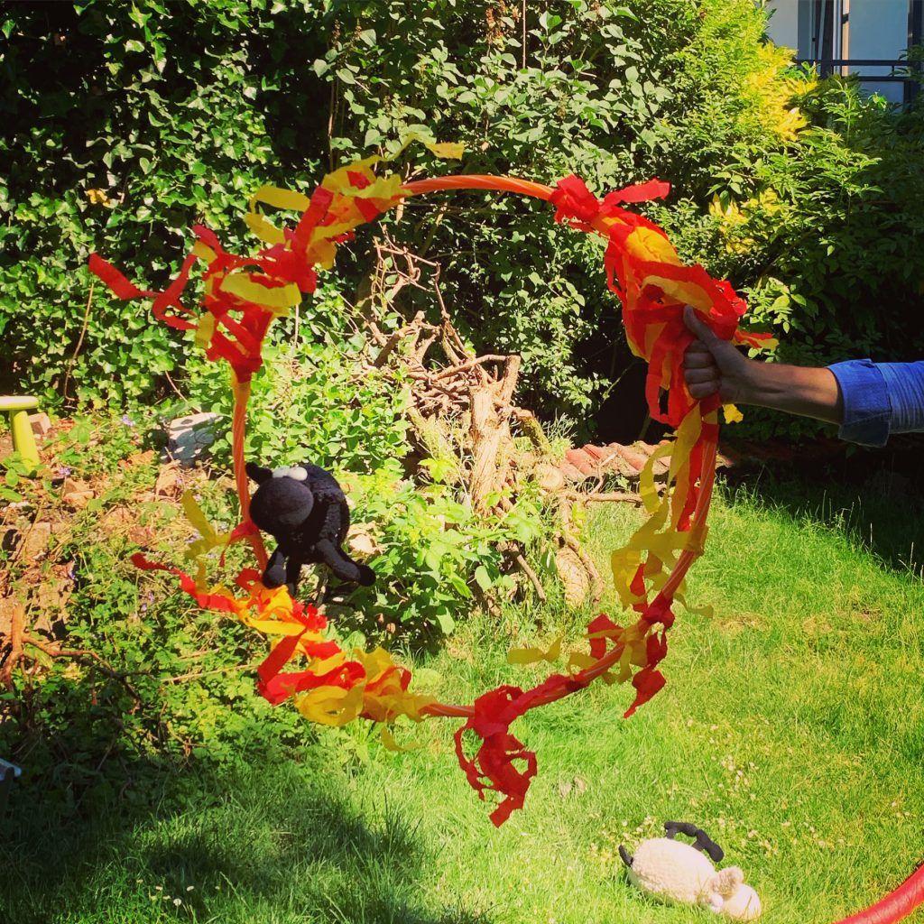 dragons party kindergeburtstag  drachenzähmen mit