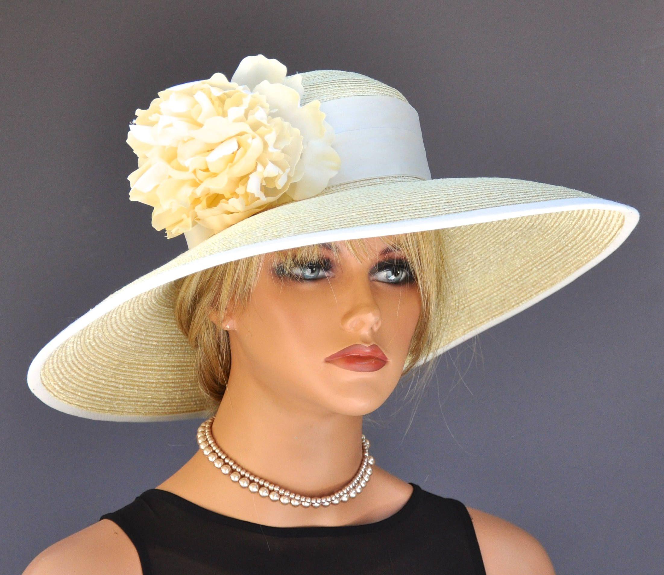 Wide Brim Derby Hat 9042a5191266