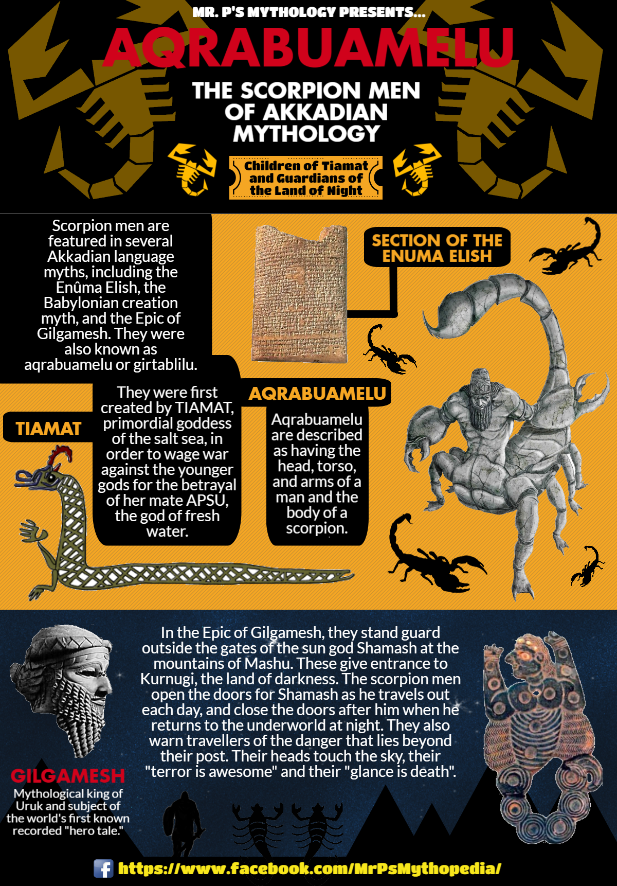 The Aqrabuamelu Or Scorpion Men Of Babylonian Akkadian