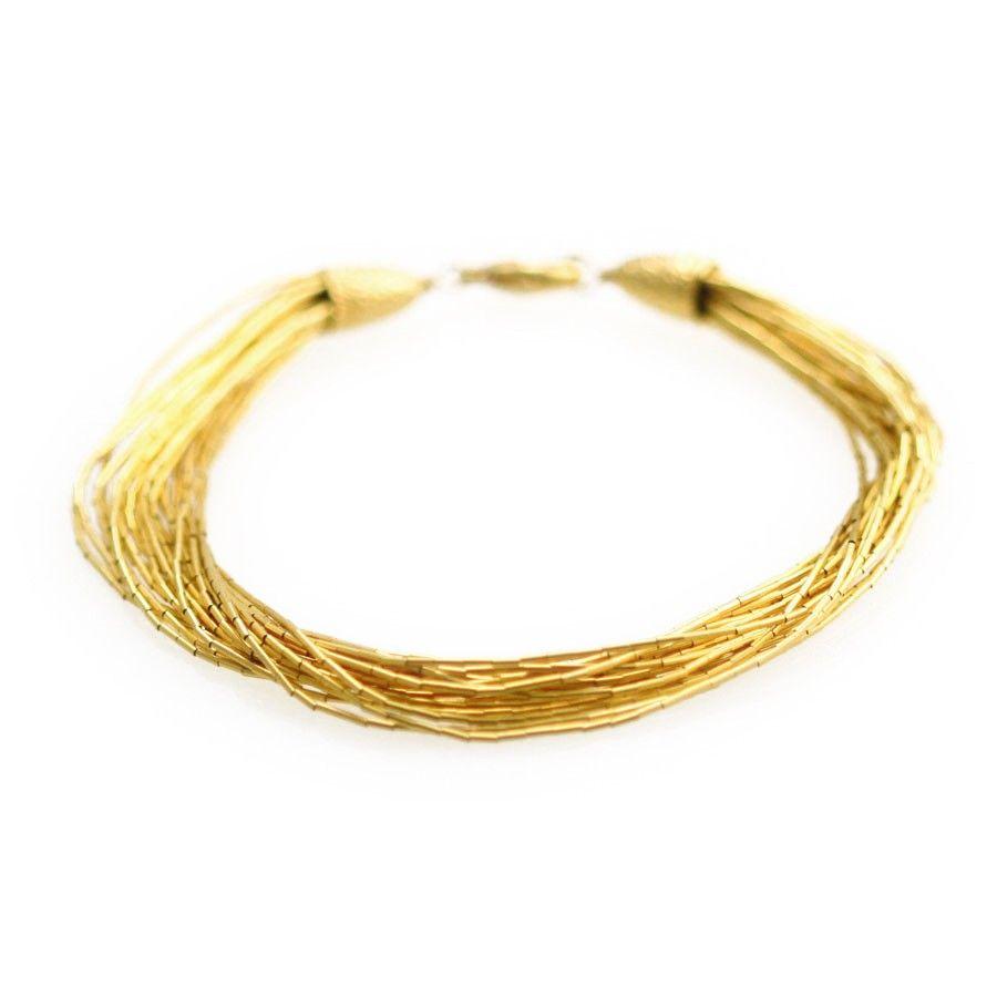Susan b goldsilk k gold plated sterling silver bracelet just