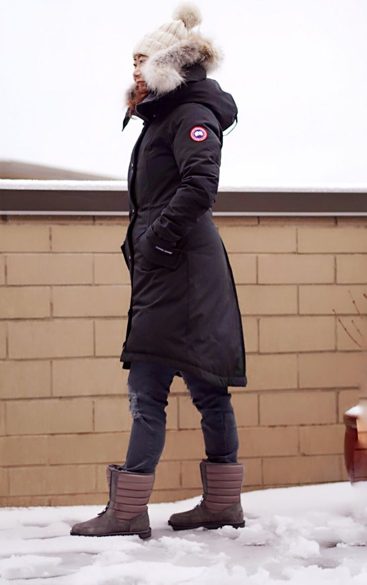 Best fitting canada goose parka for petite canada goose