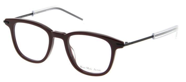 f3f654442f5785 Tendance lunettes   Lunettes de vue DIOR CD BLACKTIE195 N0D 46 20 Homme  Marron Carrée