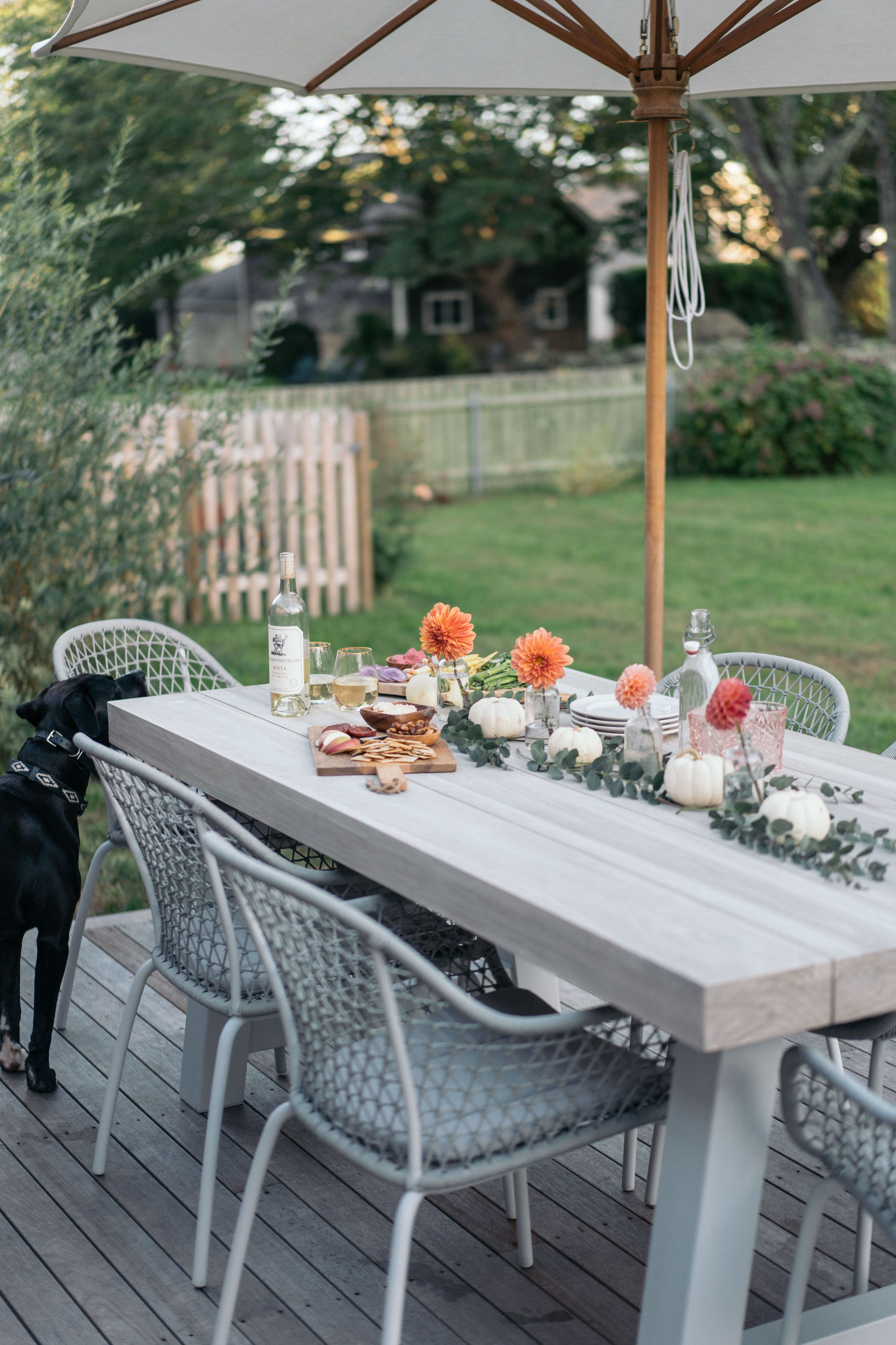 Our Porch Pergola Reveal A New Outdoor Dining Set Outdoor
