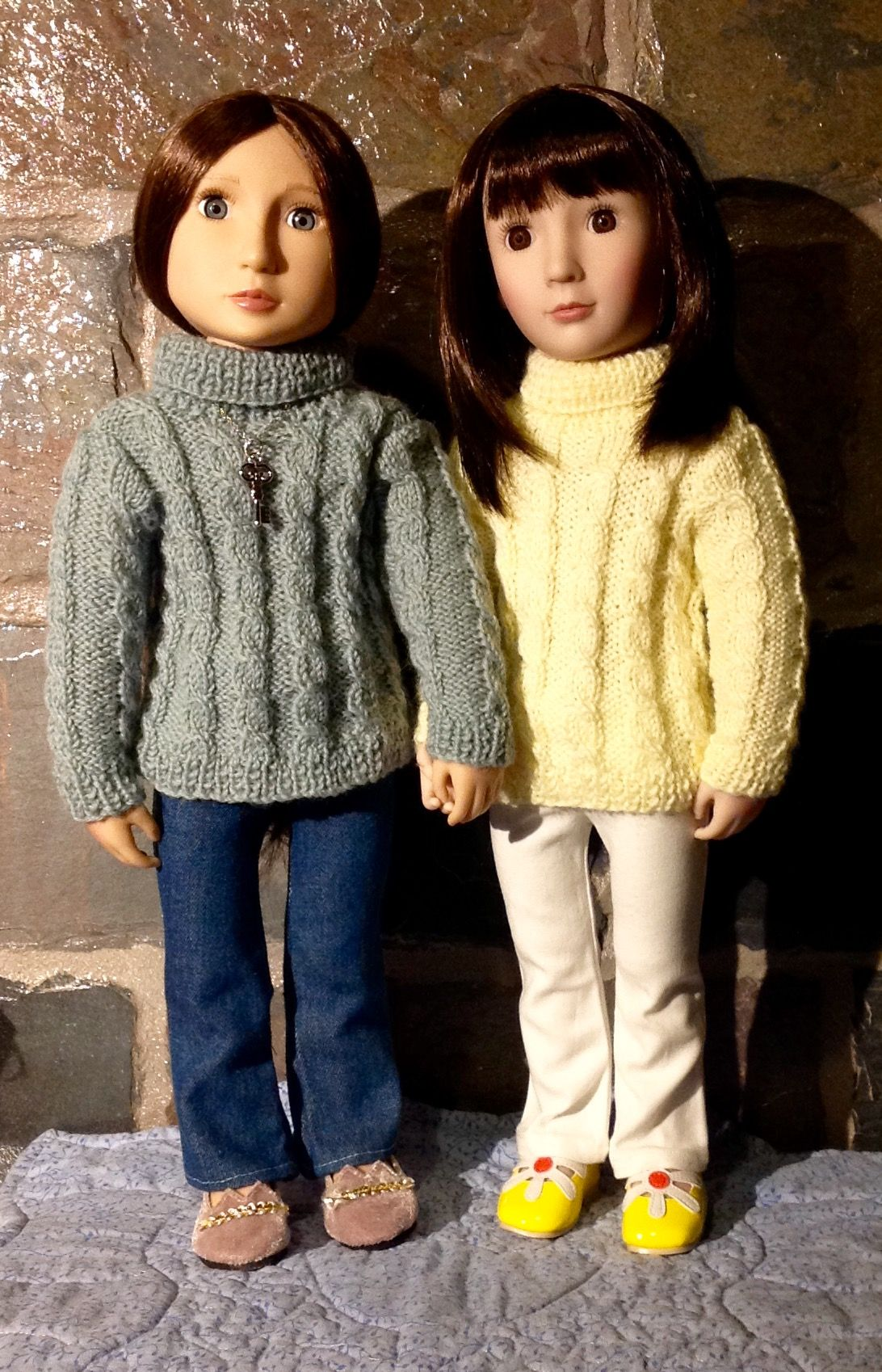 Sasha pattern on AGFAT dolls.   A Girl For All Time   Pinterest ...