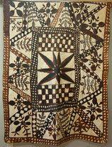 Tapa or Siapo cloth, Samoa - Te Manawa