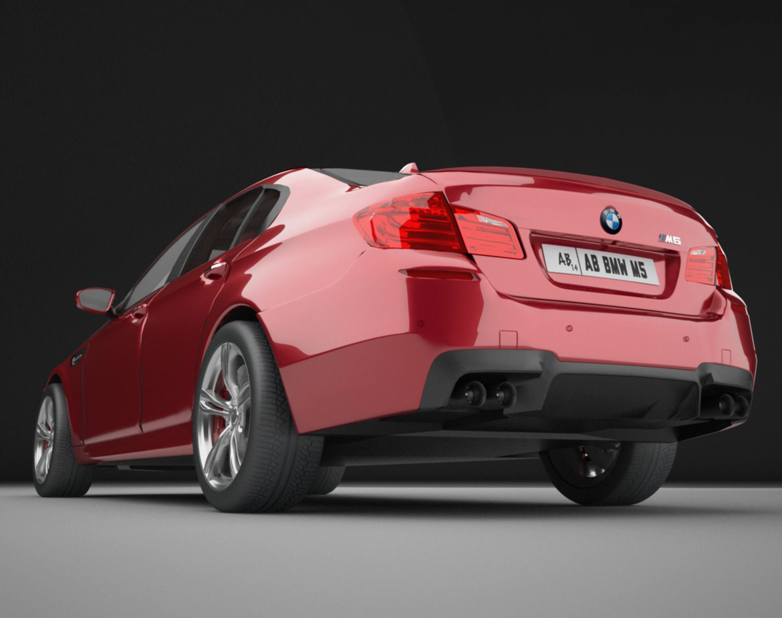 Bmw F10 M5 With Detailed Interior Vray Bmw Vray Interior