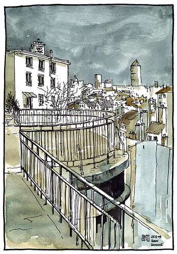 Place Rouville, Lyon - France by bruno molliere, via Flickr