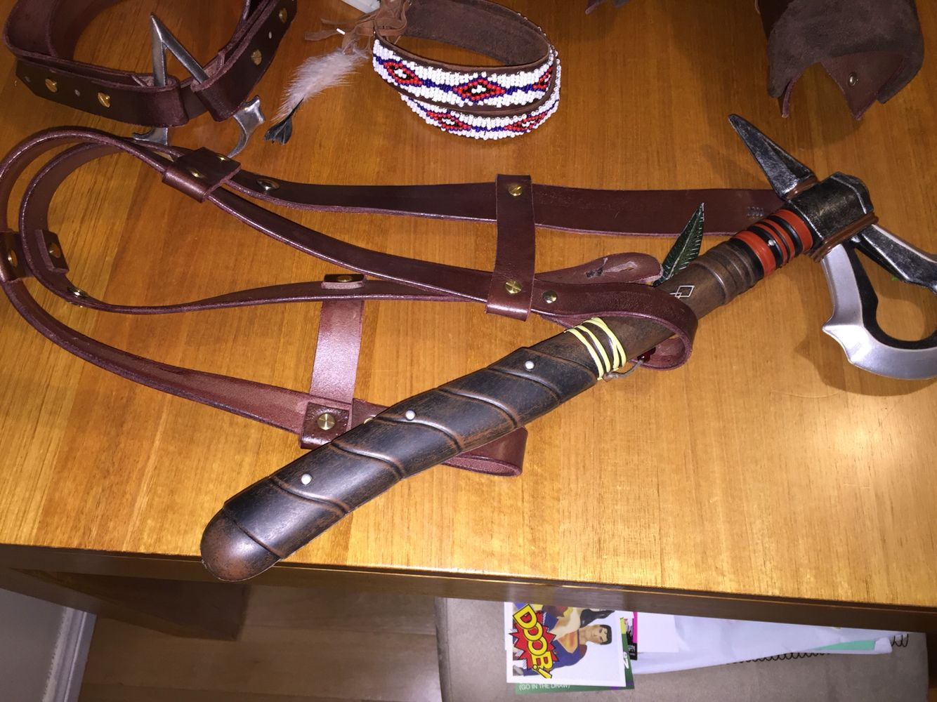 Connor Kenway Utility Belt Referencias Cosplay