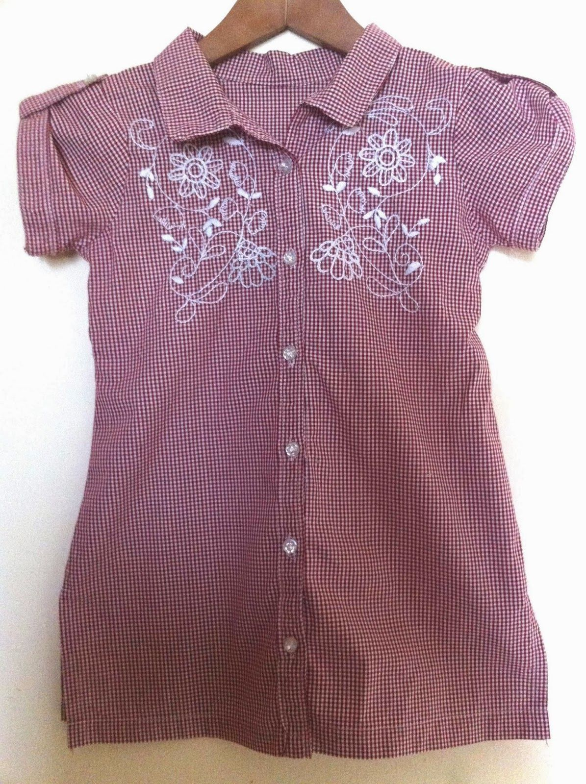 A line shirt with open collar how to draft a pattern for this a line shirt with open collar how to draft a pattern for this shirt sew simple dress jeuxipadfo Images