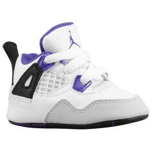 bece68d2d7b Jordan Retro 4 - Infants - Basketball - Shoes - White/Ultraviolet/Black -  Let the collection begin!!!