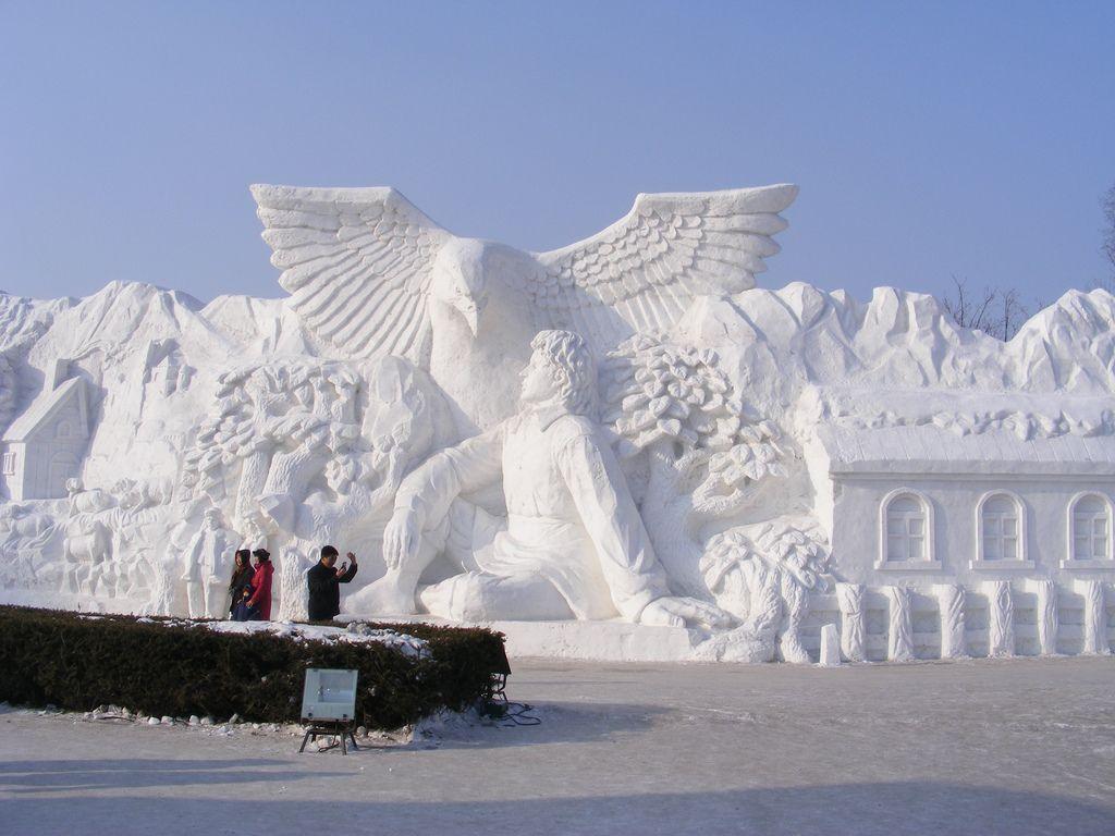 Finnish folk tales, Harbin International Ice and Snow Sculpture Festival | by Rincewind42