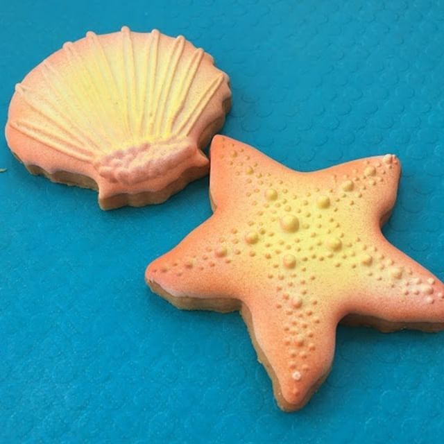 XOXO Deliveries Seashells Cookie Collection.  See our website to order these beautiful cookies. XOXO Deliveries features artisan decorated cookies for all of life's special moments. Celebrate life's moments.  Personalize our artisan decorate cookies for every occasion.