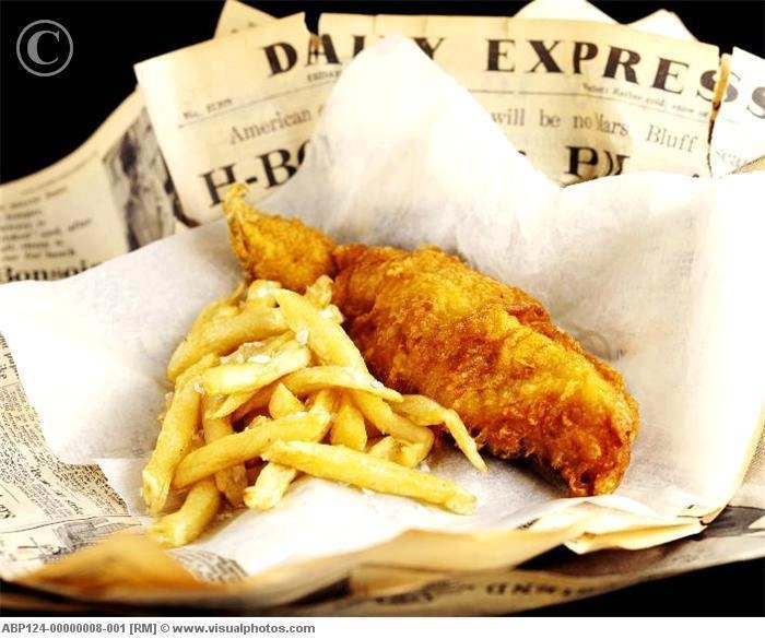 Fish and chips in newspaper english memories 1950s for Fish and chips newspaper