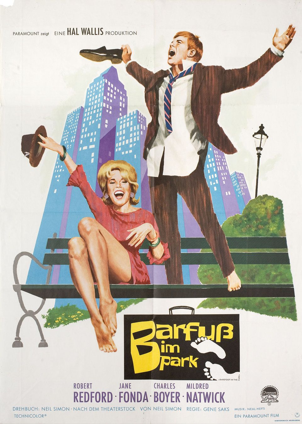 Barefoot In The Park Movie