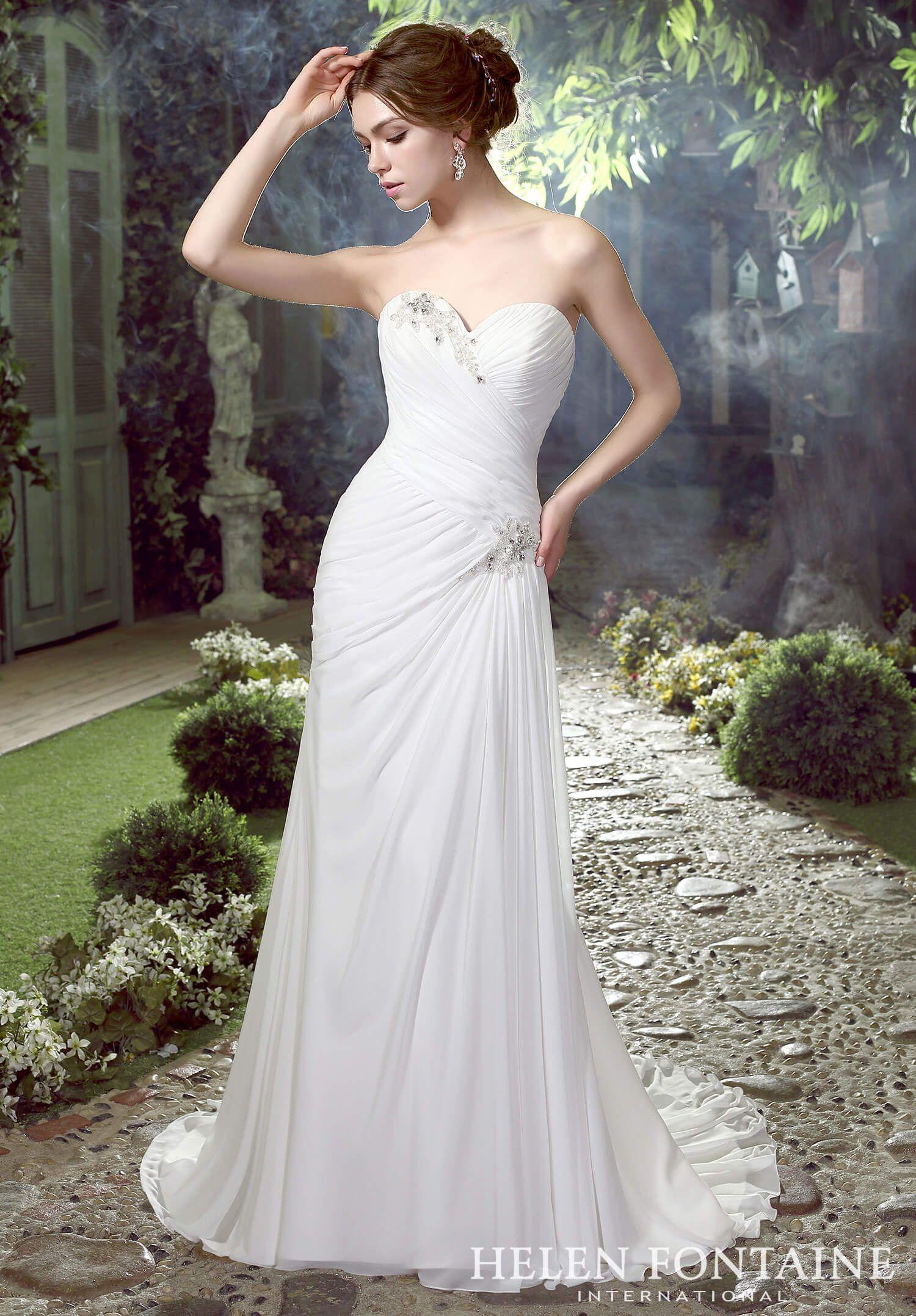 Helen Fontaine Style 1035 in 2020 Informal wedding