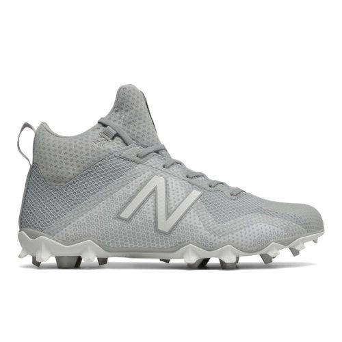 FreezeLX Men s Lacrosse Shoes - Grey White (FREEZGW)  c55ae2373