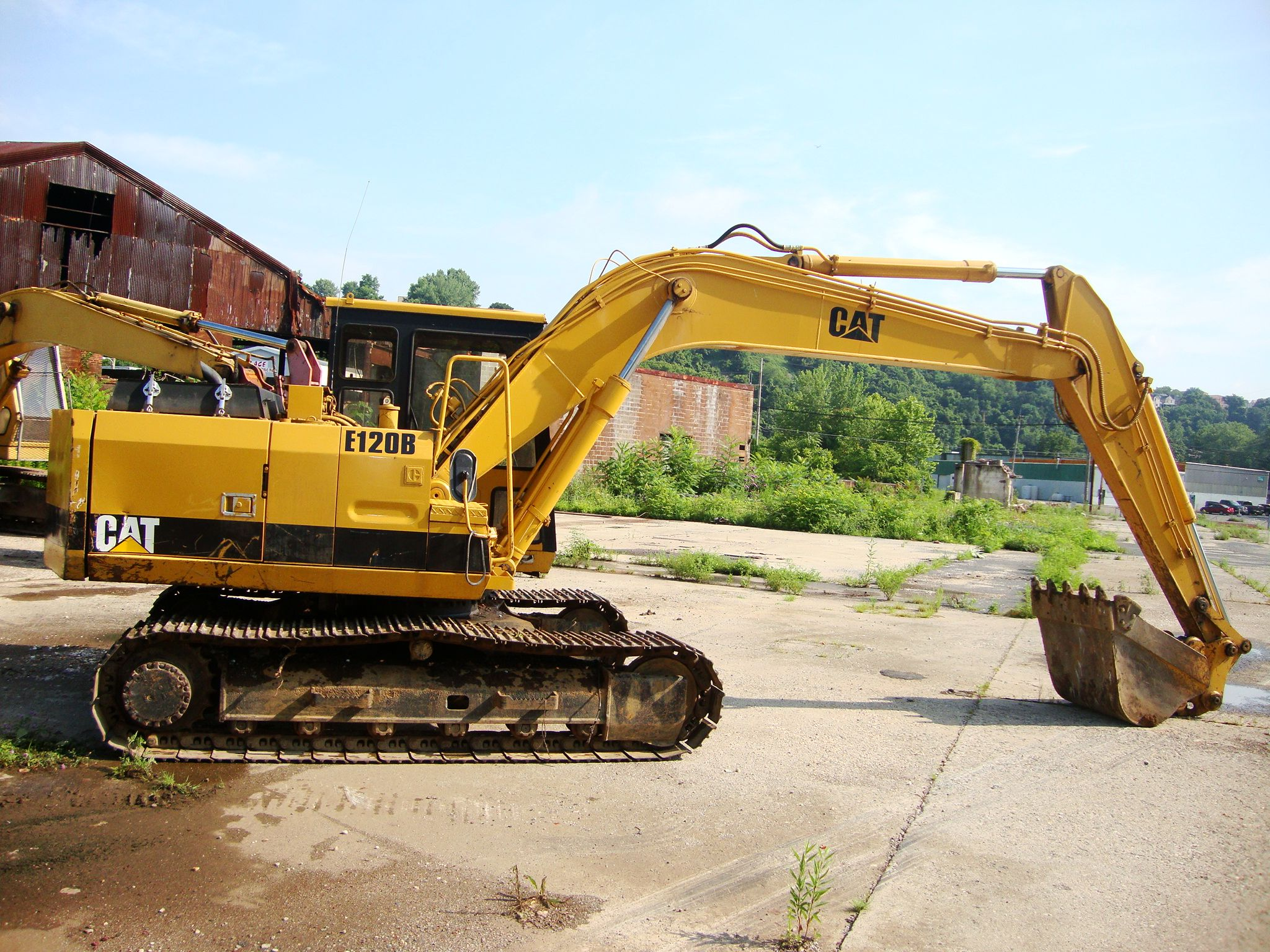 Cat E120 Caterpillar Heavy Equipment Monster trucks