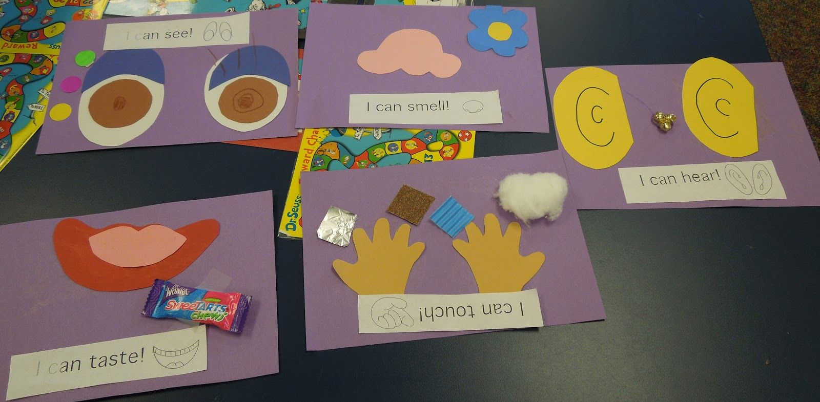 5 Senses Preschool Craft