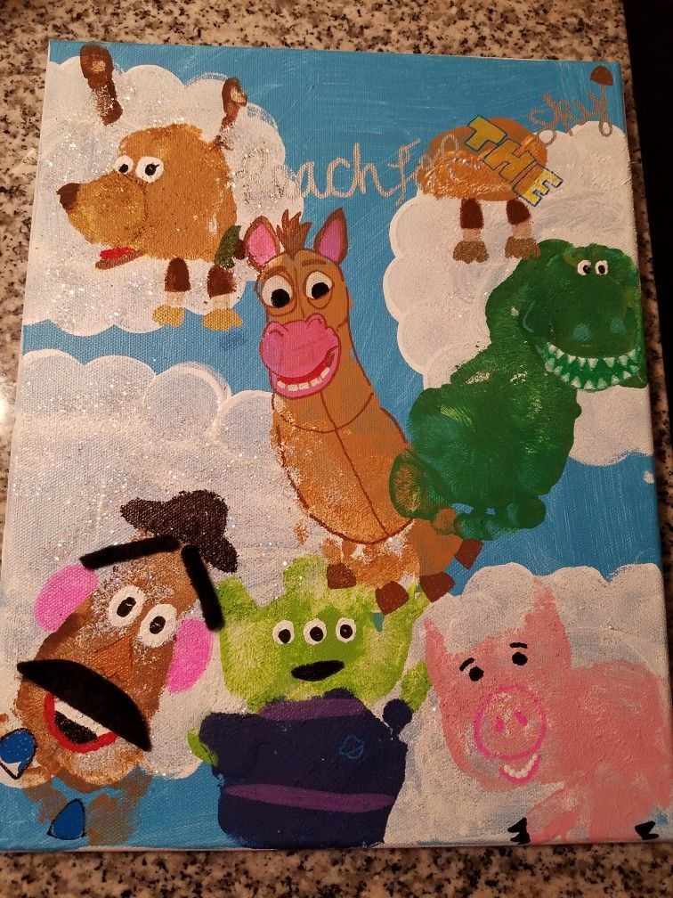Toy Story Arts And Crafts Ideas