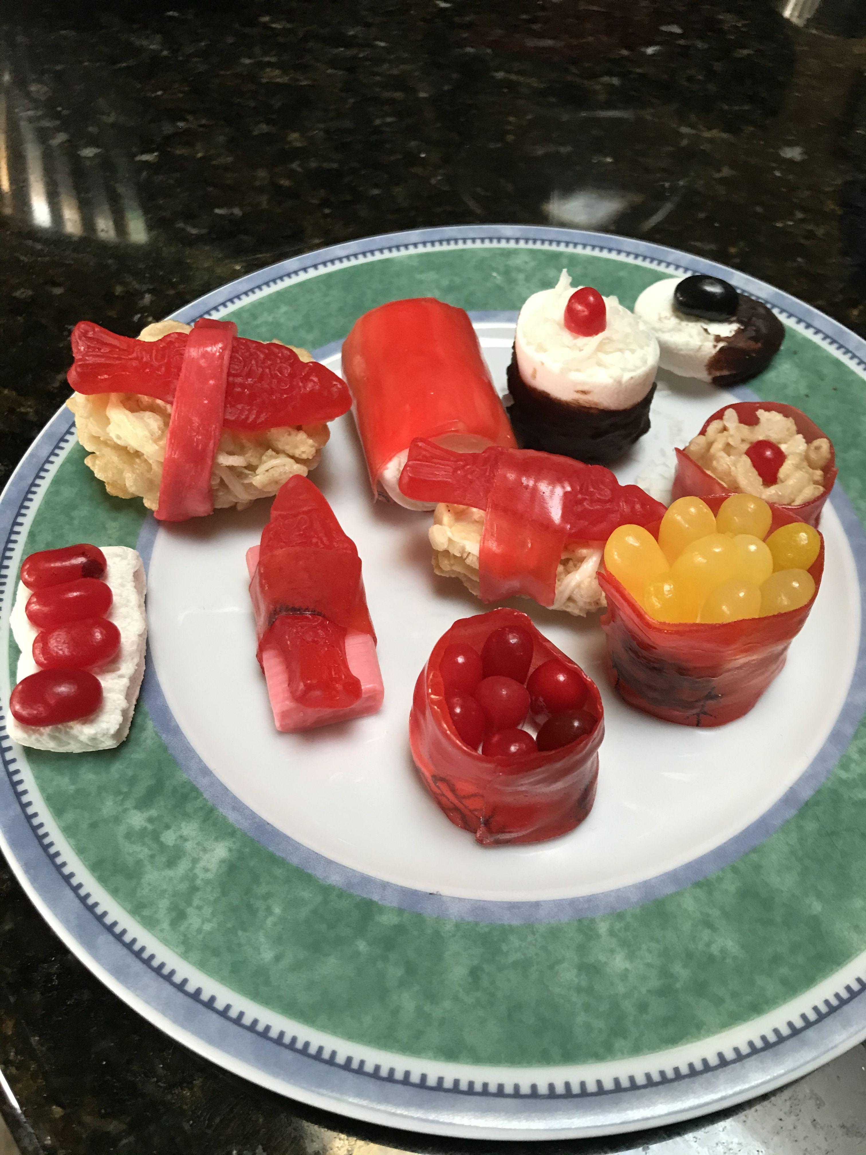 Sweet Sushi #candysushi | Hering