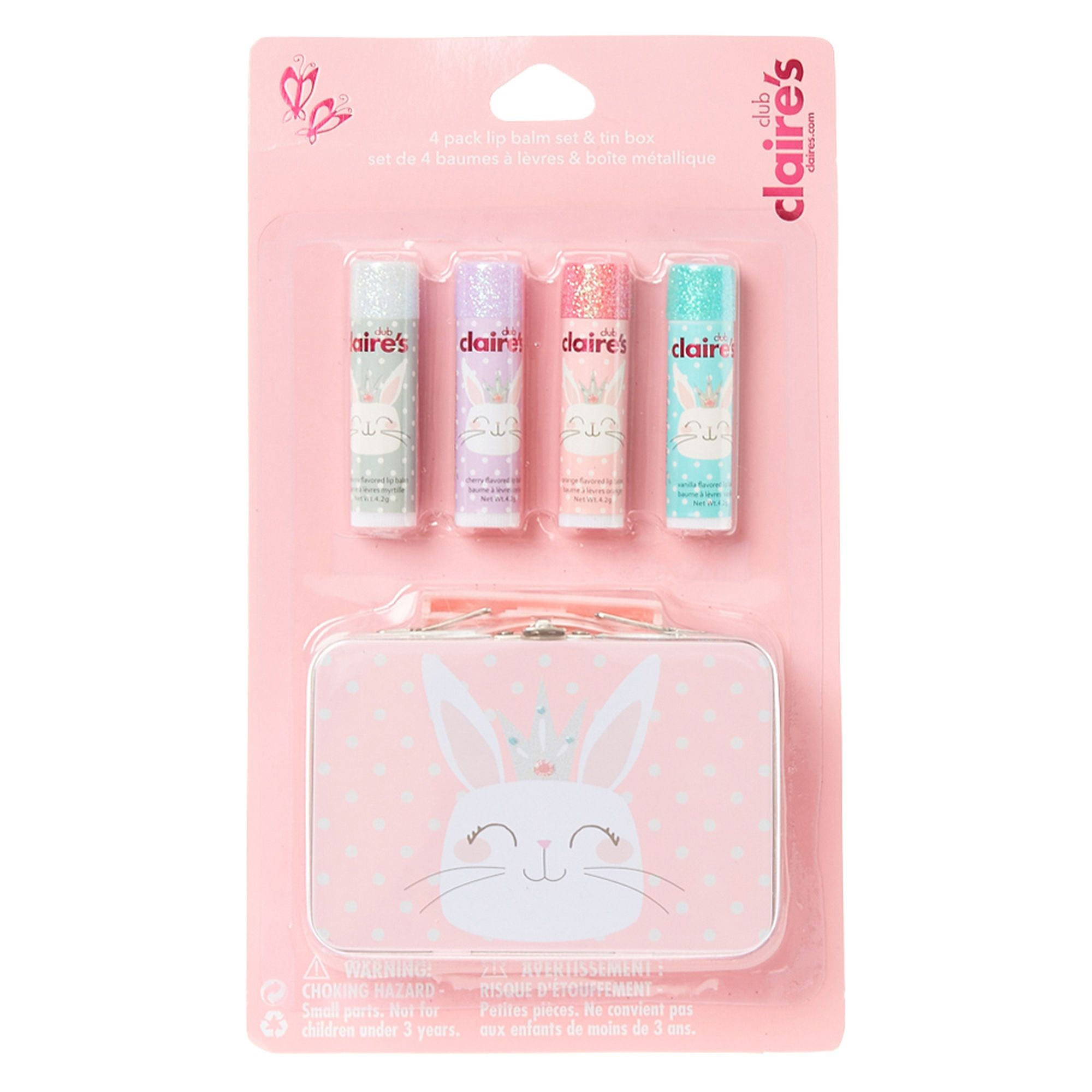 Claire/'s Girl/'s Mixed Llama Erasers Pink 4 Pack