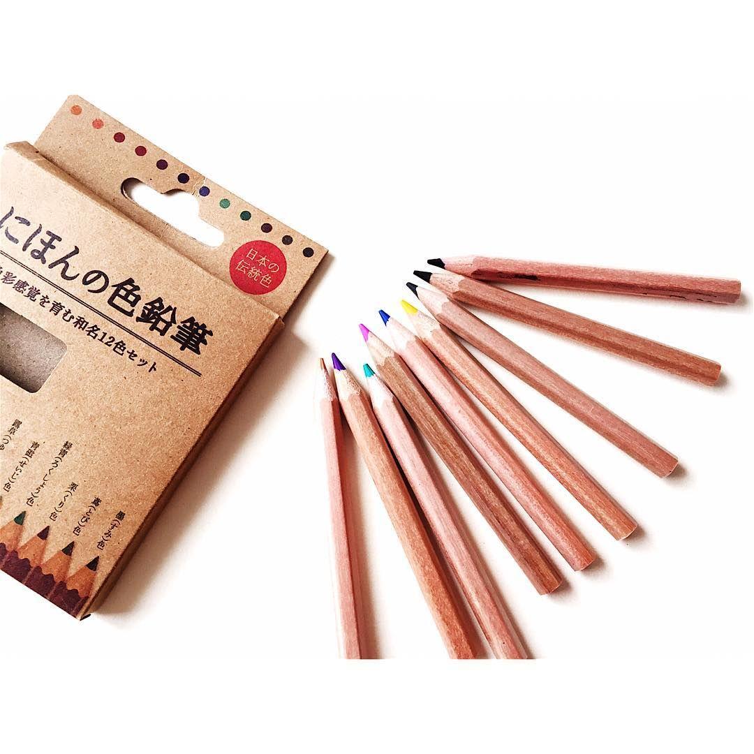 和カラー 色鉛筆が100円 セリア にほんの色鉛筆 に大人たちが殺到