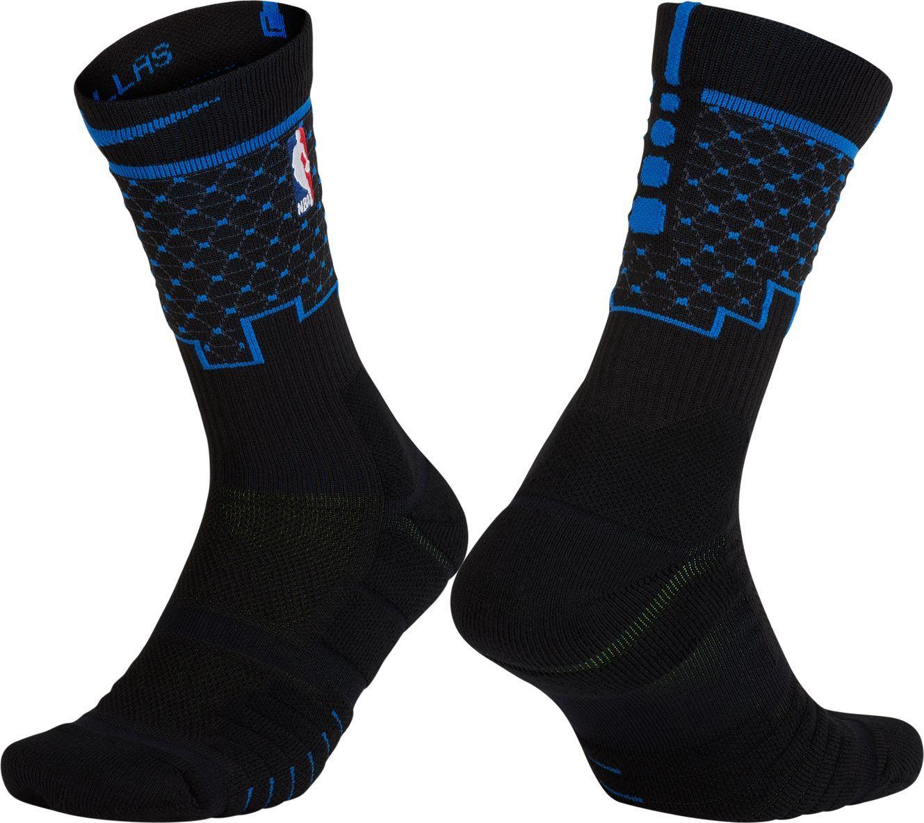 e7a51f52a6f Nike Dallas Mavericks City Edition Elite Quick NBA Crew Socks ...