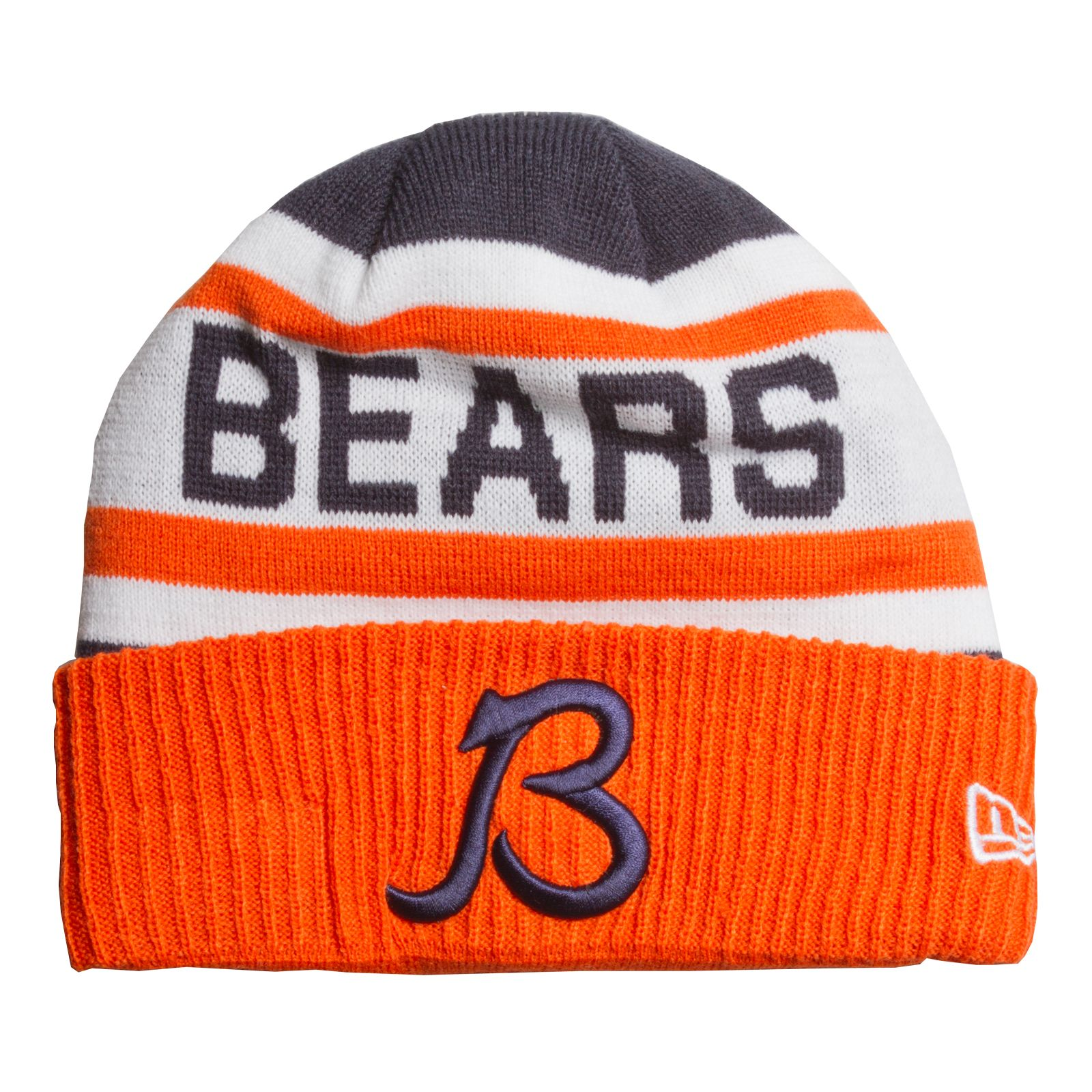 ec9aec23 Chicago Bears Navy, Orange, and White Alternate Script