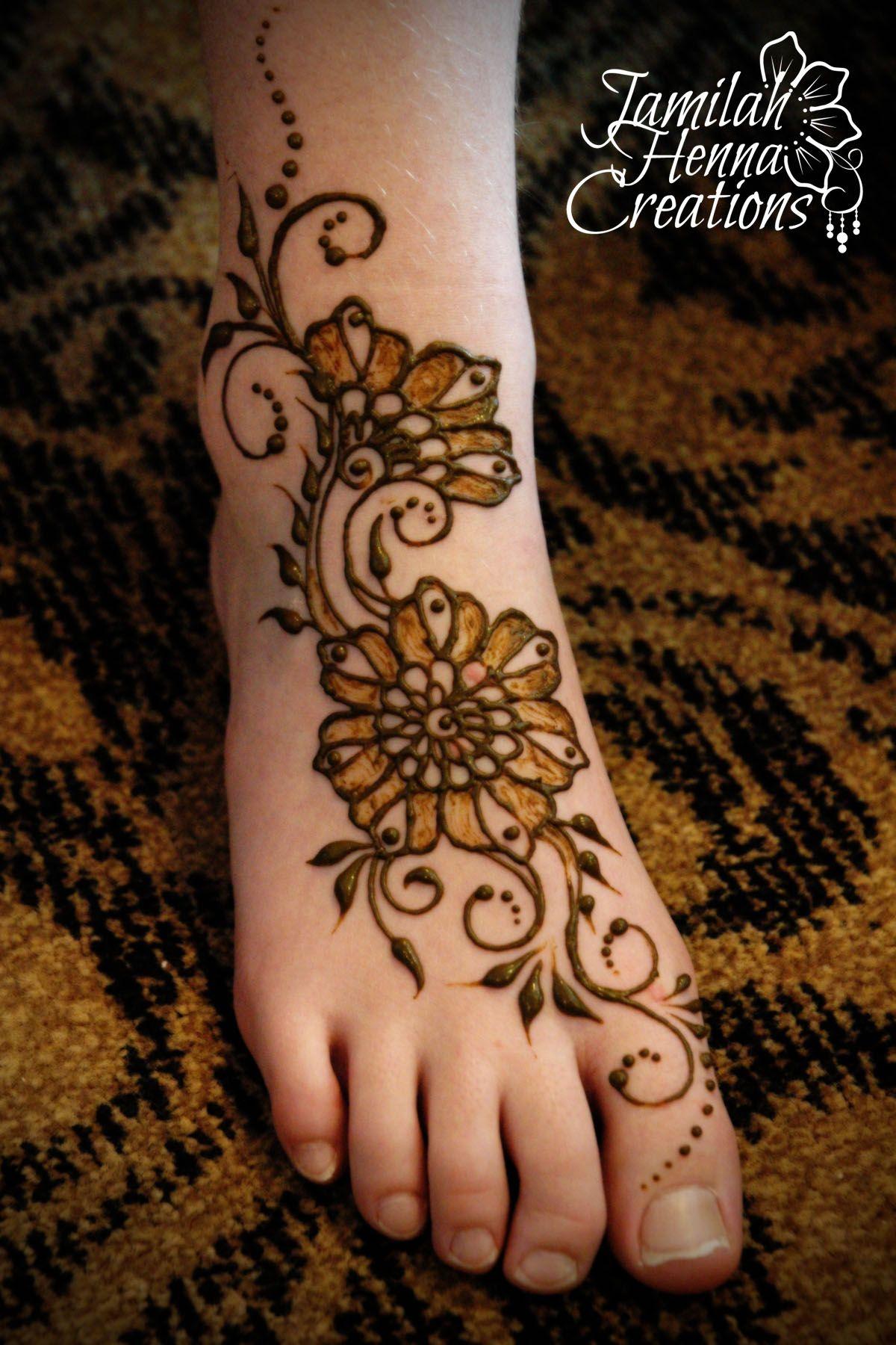 Khaleeji Henna Designs Tattoo: Henna Gathering 2014 Foot Design Www.JamilahHennaCreations