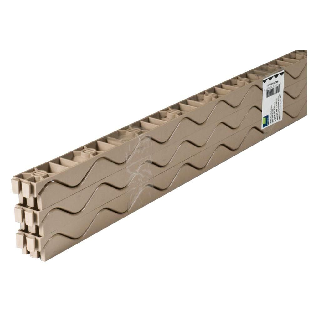 Palruf 24 In Horizontal Plastic Closure Strips 6 Pack 92771 The Home Depot Plastic Roofing Corrugated Plastic Roofing Corrugated Plastic