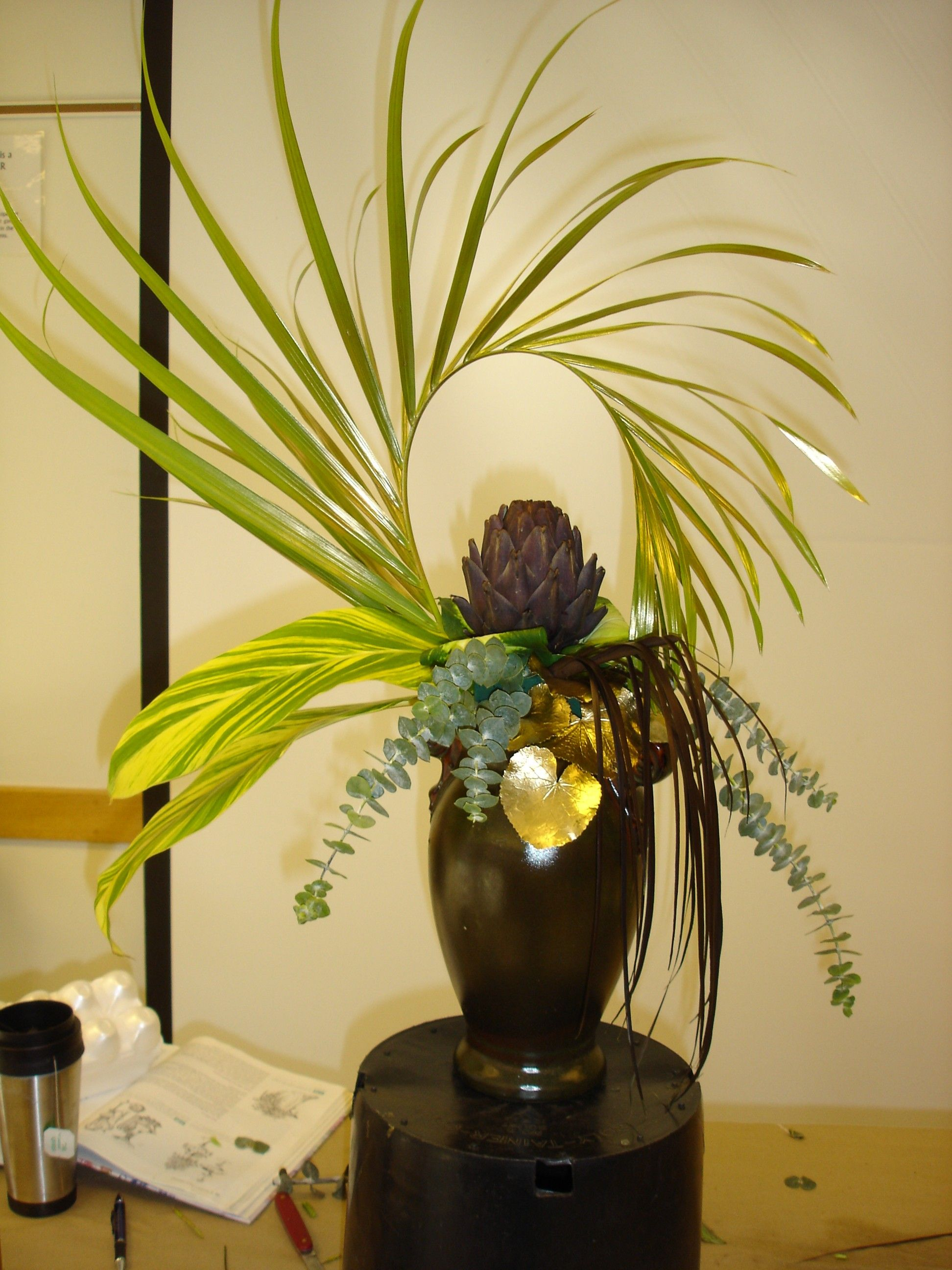 Art Deco Flower Arrangement