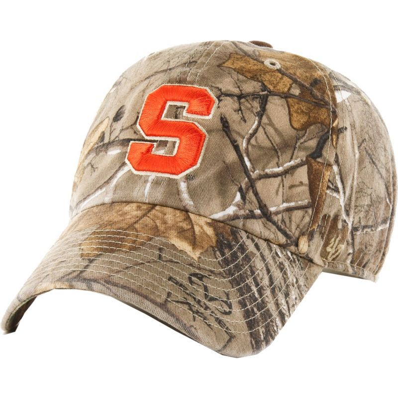 huge discount 6ae38 4a8d5  47 Men s Syracuse Orange Camo Clean Up Adjustable Hat, Team