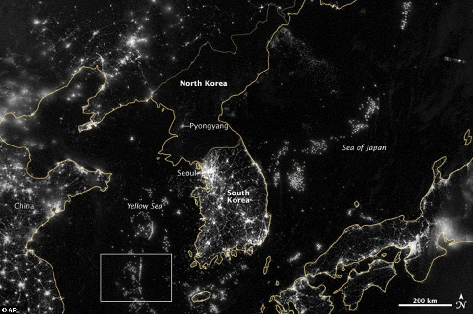 The cities that never sleep NASAs stunning images of the world