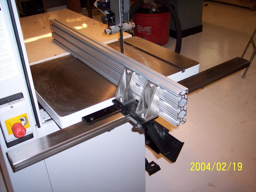 Bandsaw Fence For Minimax 16 Bandsaw Table Saw Fence Carpentry Tools