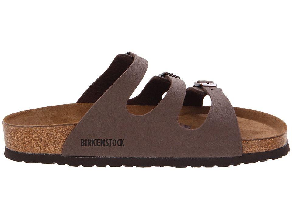 66e67fa42bb Birkenstock Florida Soft Footbed - Birkibuc Women s Sandals Mocha Birkibuc